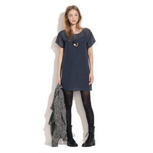 {Broadway & Broome} Madewell Holepunch Sheer Dress